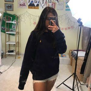 Blue Ralph Lauren crewneck sweatshirt